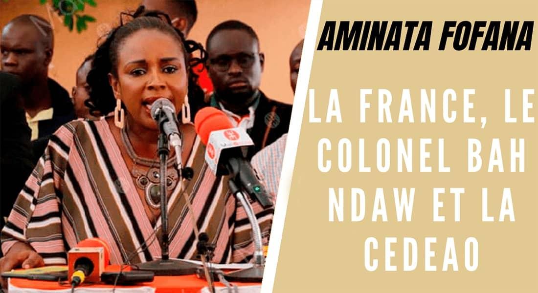 La France, le colonel Bah Ndaw et la CEDEAO