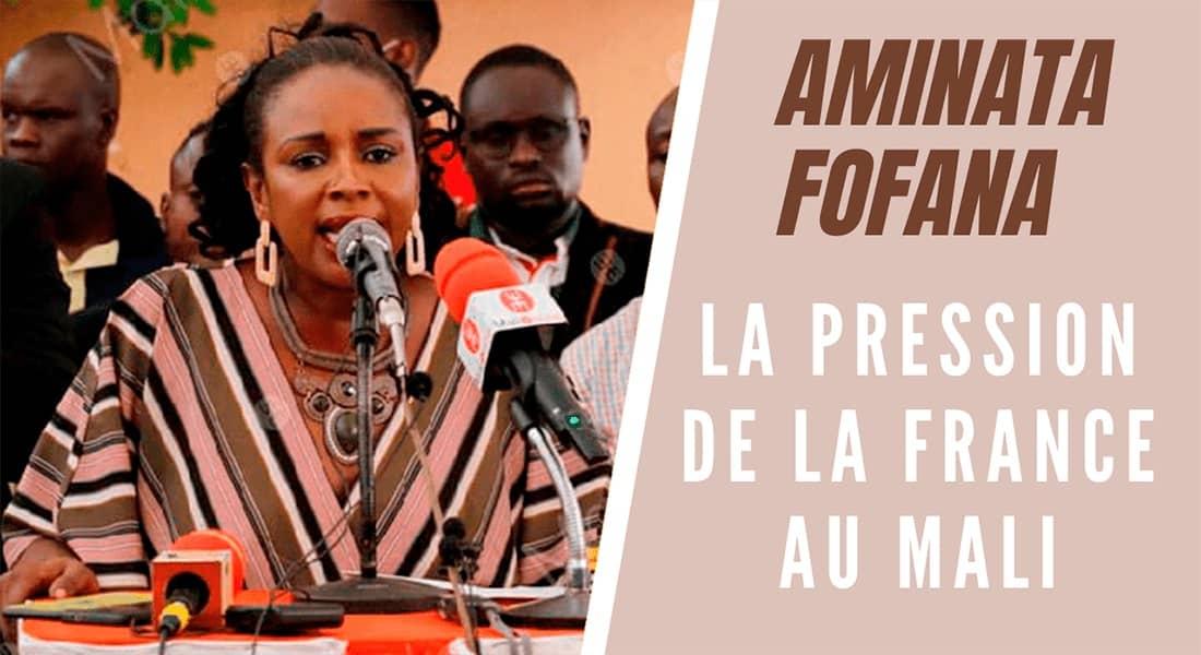 La pression de la France au Mali