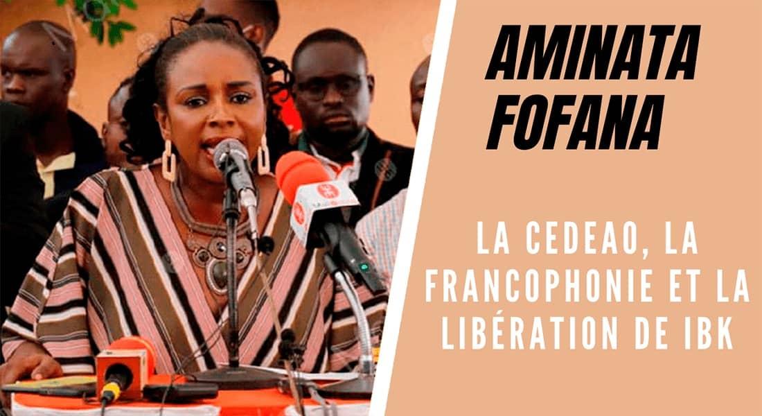 La CEDEAO, la francophonie et la libération de IBK