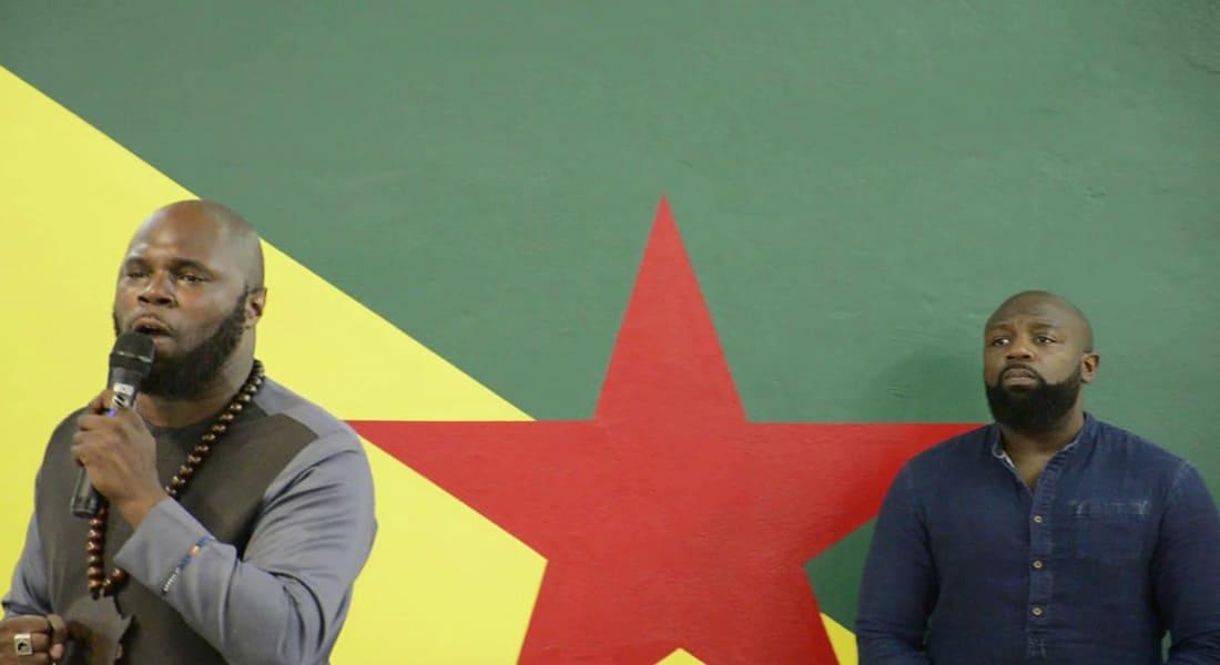 Kémi Séba en Guyane
